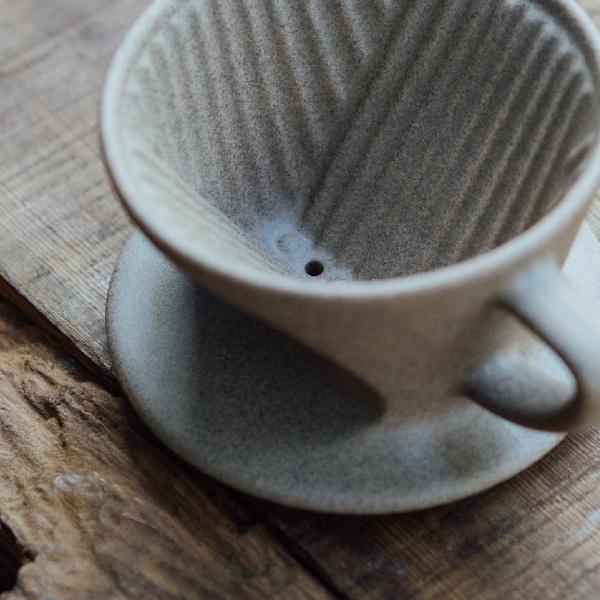 手沖咖啡-扇形濾杯