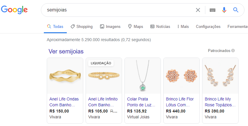 google vendas