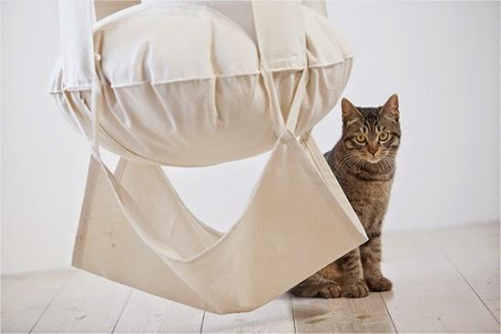 подвесной гамак для кошек