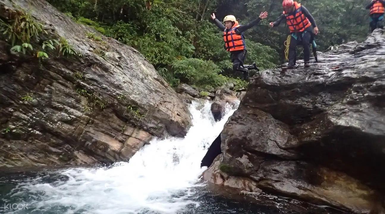 絕美秘境溯溪體驗之旅