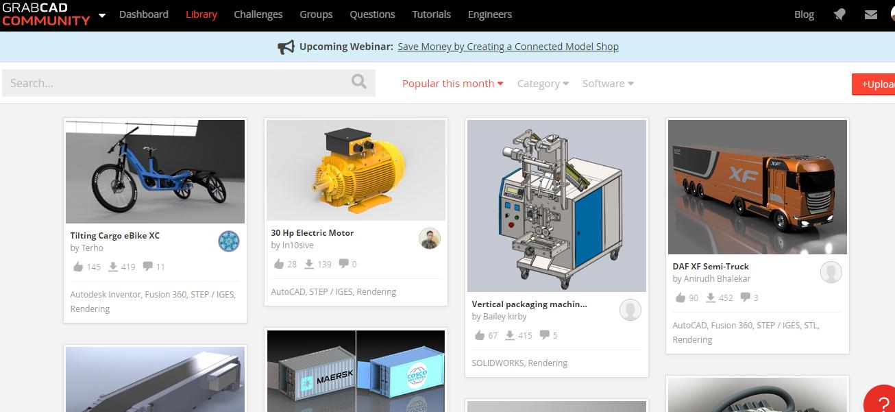 3d models websites