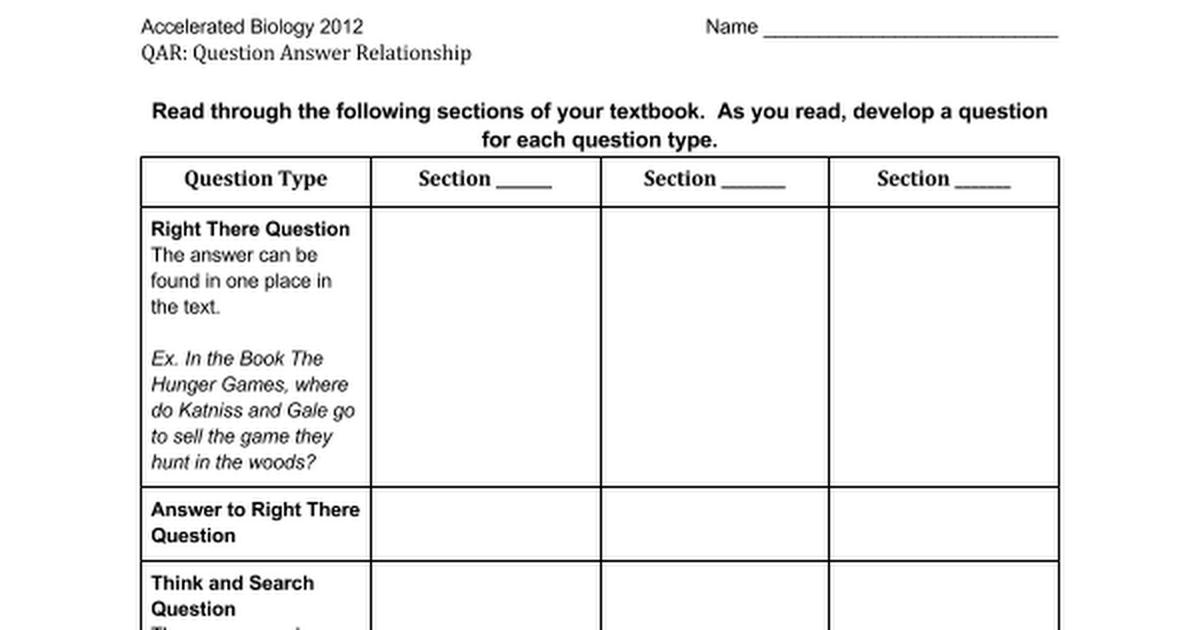 Nice Qar Template Images >> Qar Teaching Resources Teachers Pay ...