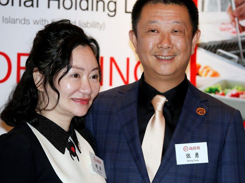 shu ping Zhang Yong Haidilao