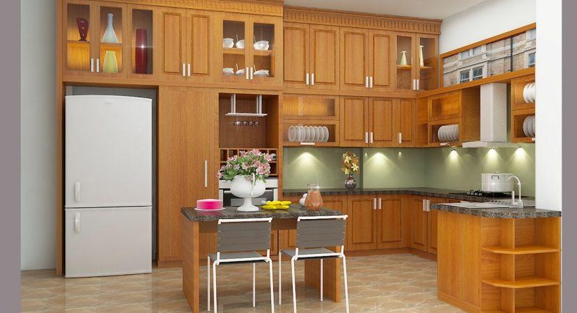 Không gian nhà bếp cần được bố trí đúng phong thủy giúp sinh khí tốt