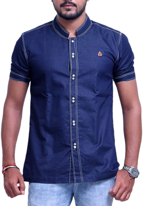 PP Blue Coloured Denim Shirt