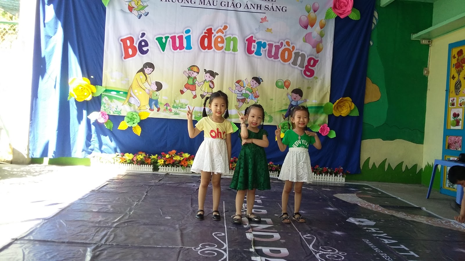 Ngày hội Bé vui đến trường. Năm học 2018 - 2019