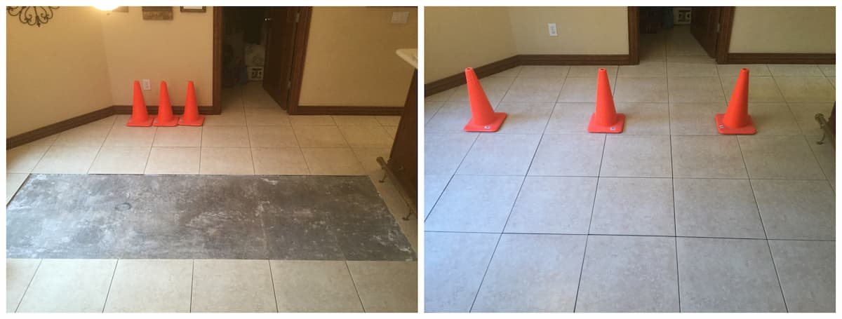 Addison Handyman tile repair