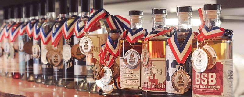 Spirits-And-Whiskeys-At-Heritage-Distilling-Company