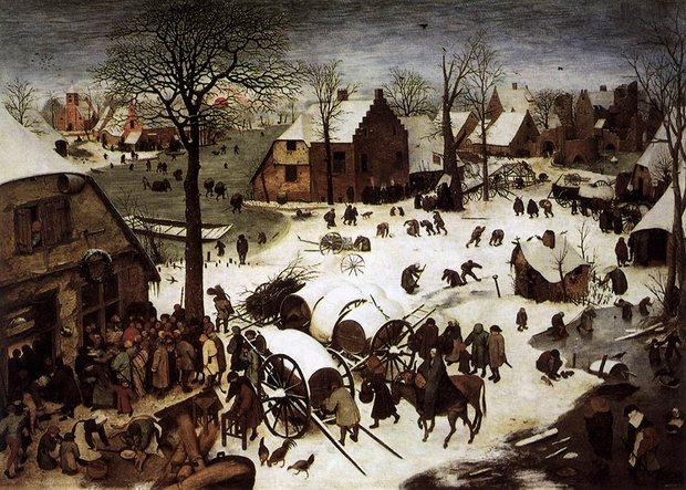 The Census at Bethlehem, Pieter Bruegel the Elder, 1566, Royal Museums of Fine Arts of Belgium, Brussels.jpeg