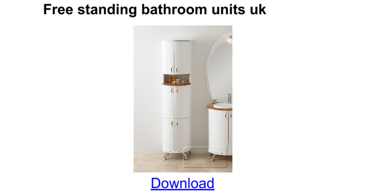 narrow bathroom furniture