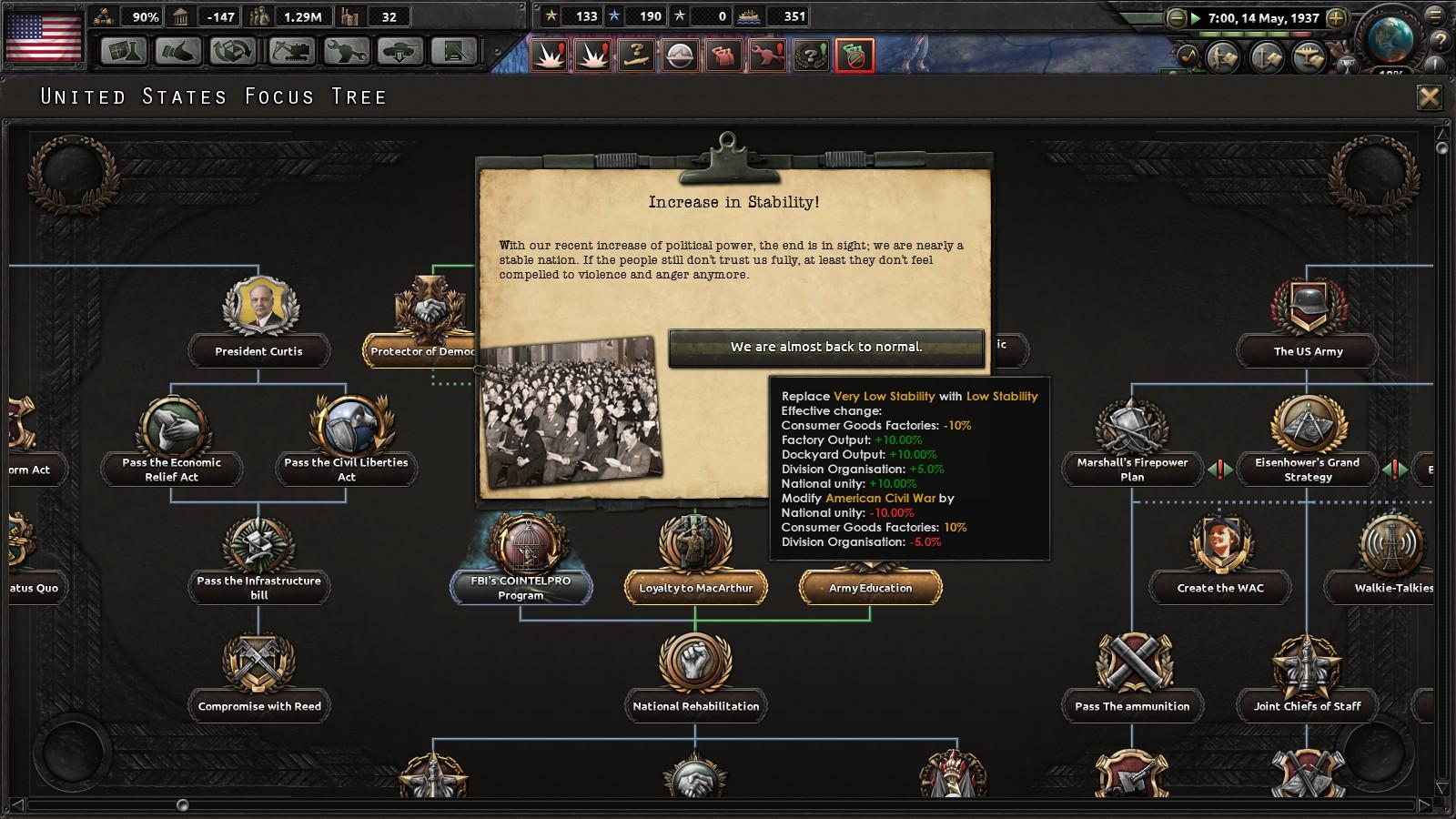 The Sleeping Giant Awakens: A USA Kaiserreich AAR | Page 3