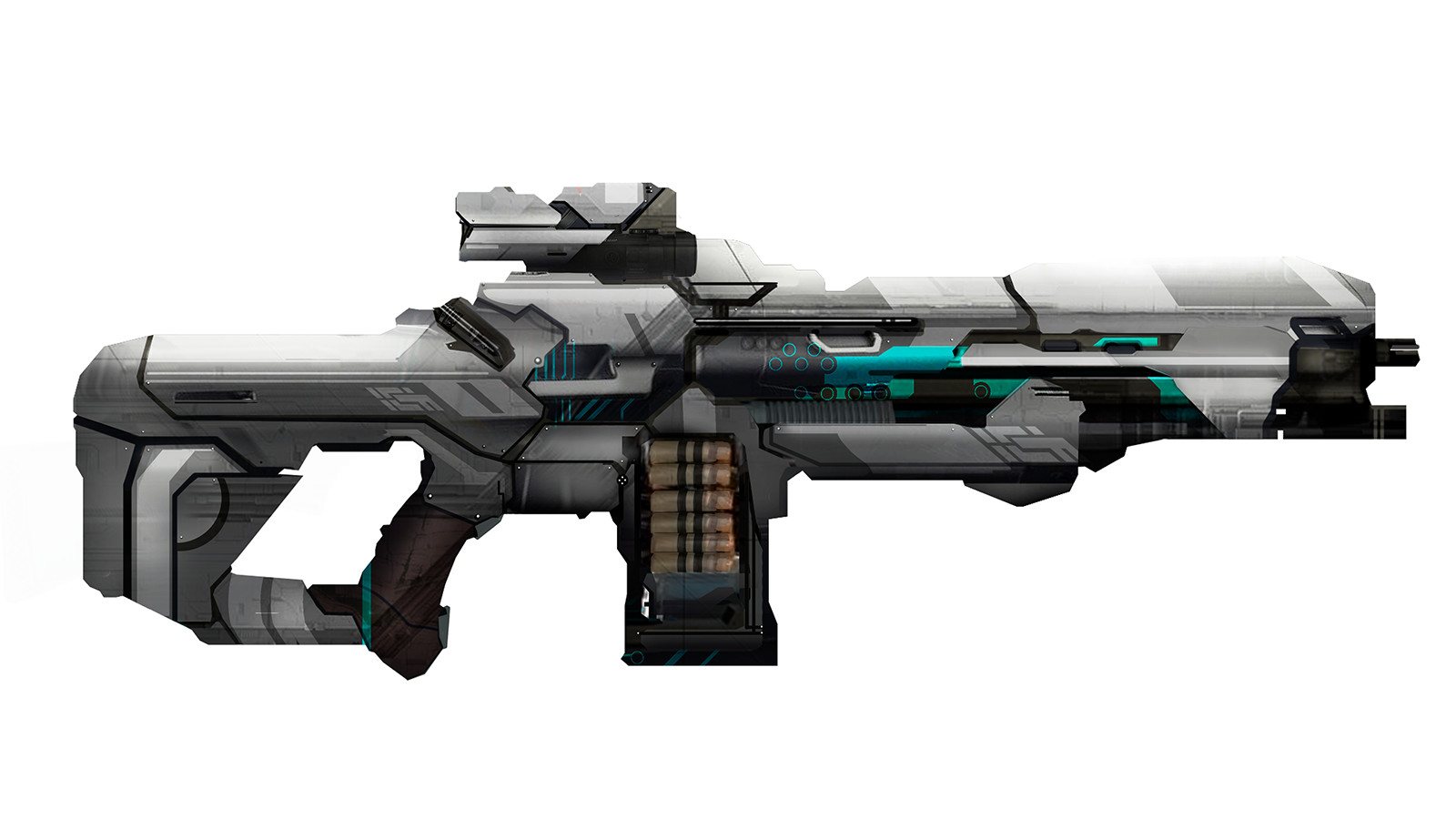 Image result for rifle futuristic gun concept art