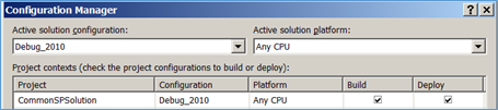 Debug 2010 Configuration Manager