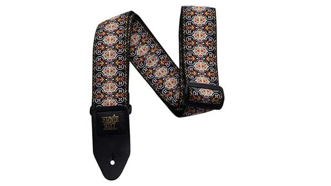vintage guitar straps Weave Jacquard