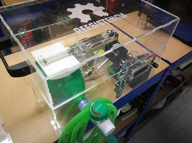 Respirador maker asturiano