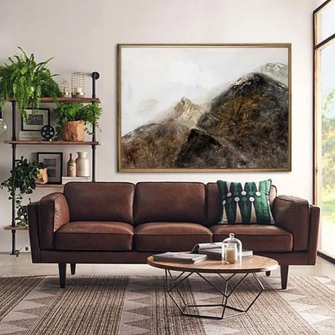 Utilizing all of the Feng Shui elements in a living room