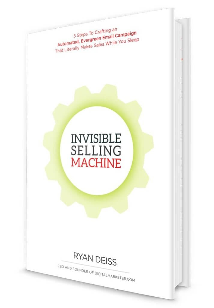Best Marketing Book #2 - Invisible Selling Machine by Ryan Deiss