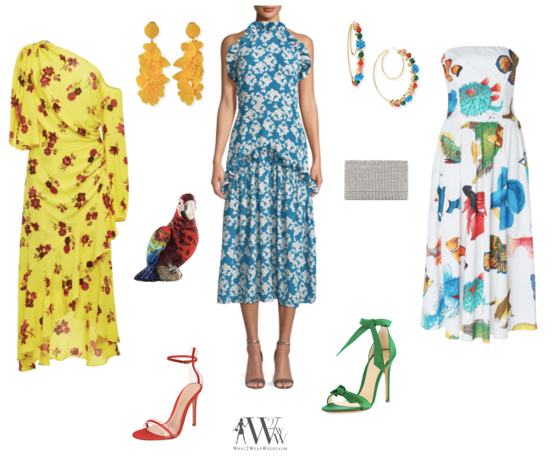 Karen Klopp, Hilary Dick article for New York Social Diary, What to Wear Everglades foundation party at thme breakers