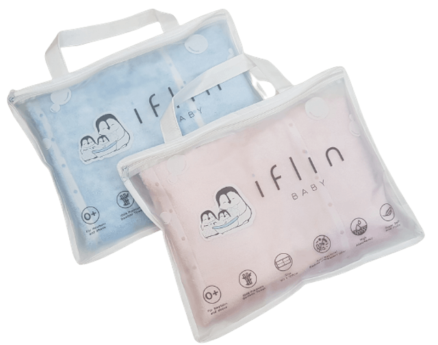 3. ผ้าเช็ดตัวสำหรับเด็กทารก Iflin Baby My Fluffy Bamboo Towel