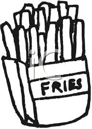 Image result for french fries clip art