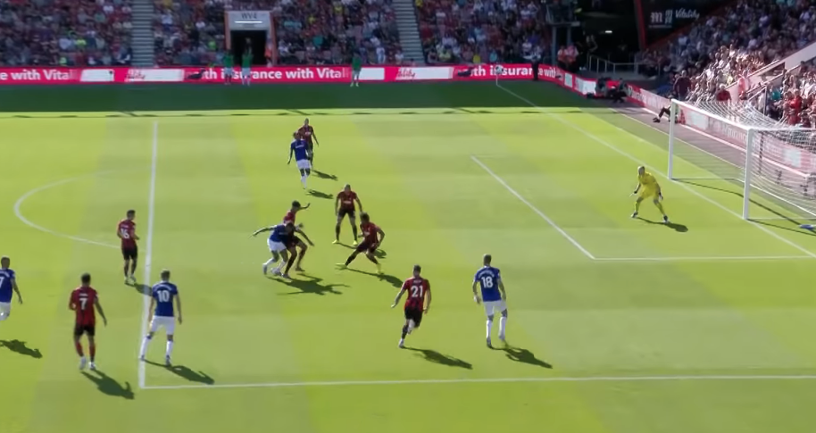 Real match example of the offside rule in-game. 2 (Why Offsides in Soccer?)