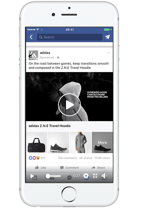 Facebook Ad Size Collection Ad