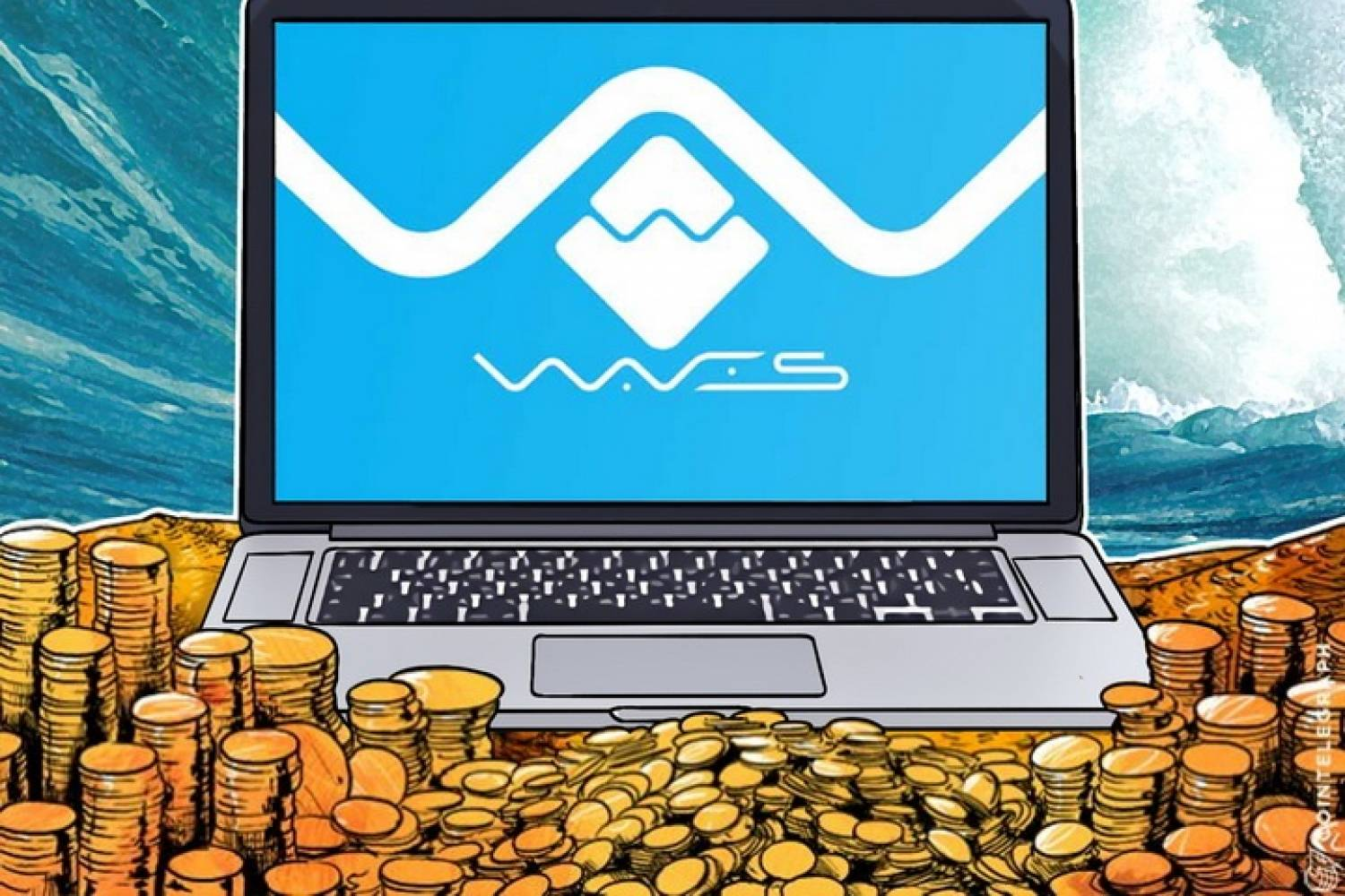 Waves token platform and coins