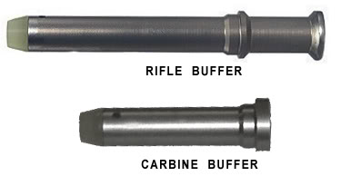 traditional rifle and carbine buffer