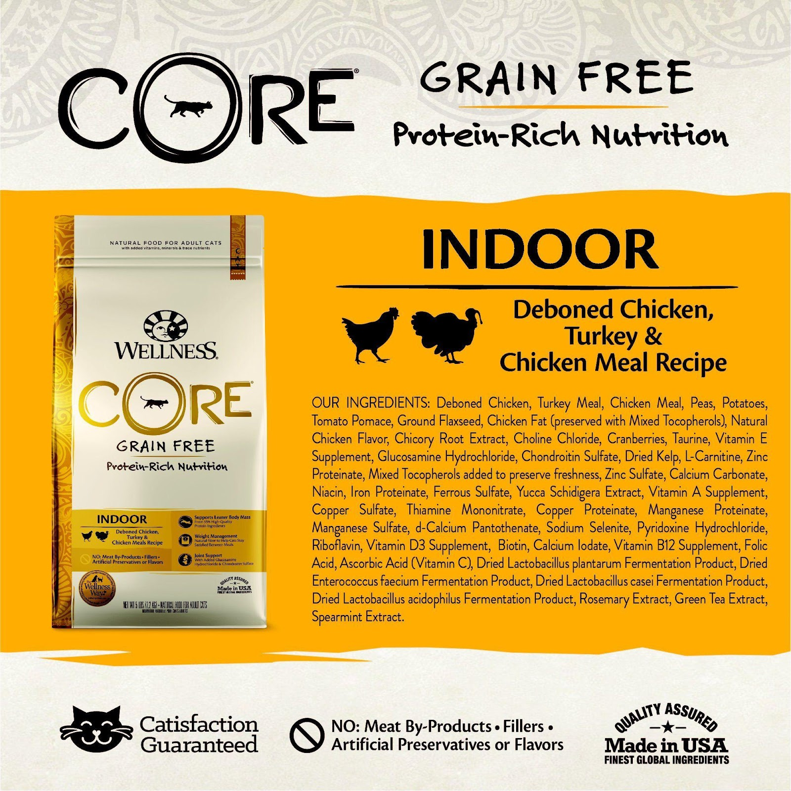 What are the advantages of grain-free cat food?