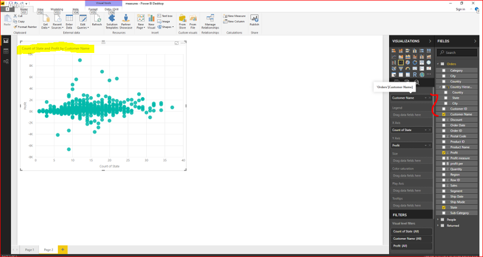 Scatter Plot Chart in Microsoft Power BI 32