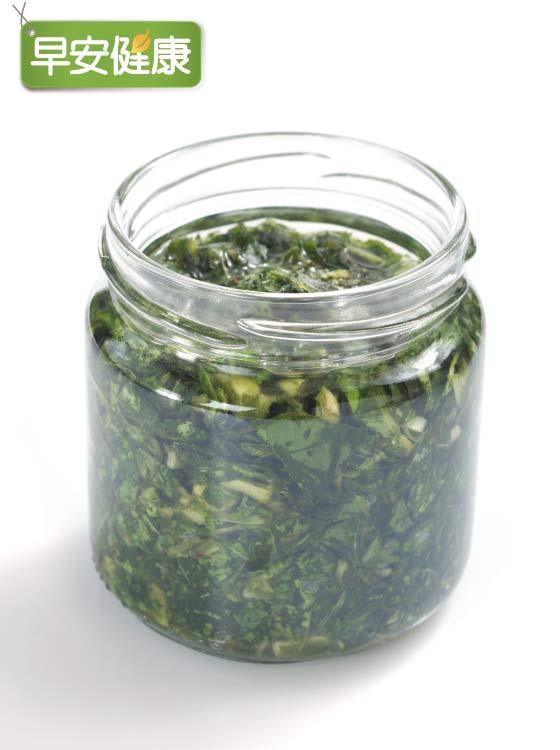 韭菜芝麻醬油