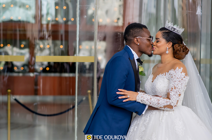 Emmanuel Emenike and Iheoma Nnnadi wedding photos