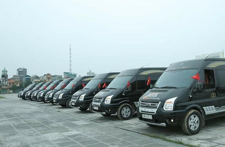 Dàn xe Khánh An Limousine đi Ninh Bình từ Hà Nội