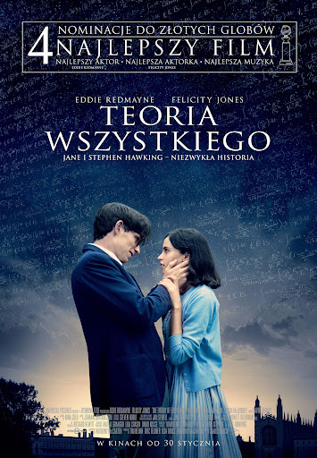 Polski plakat filmu 'Teoria Wszystkiego'