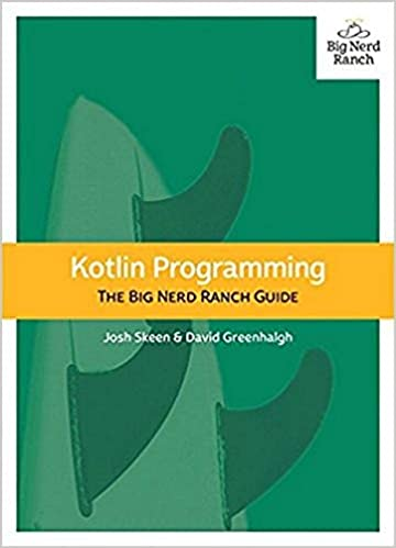 Kotlin Programming: The Big Nerd Ranch Guide book cover