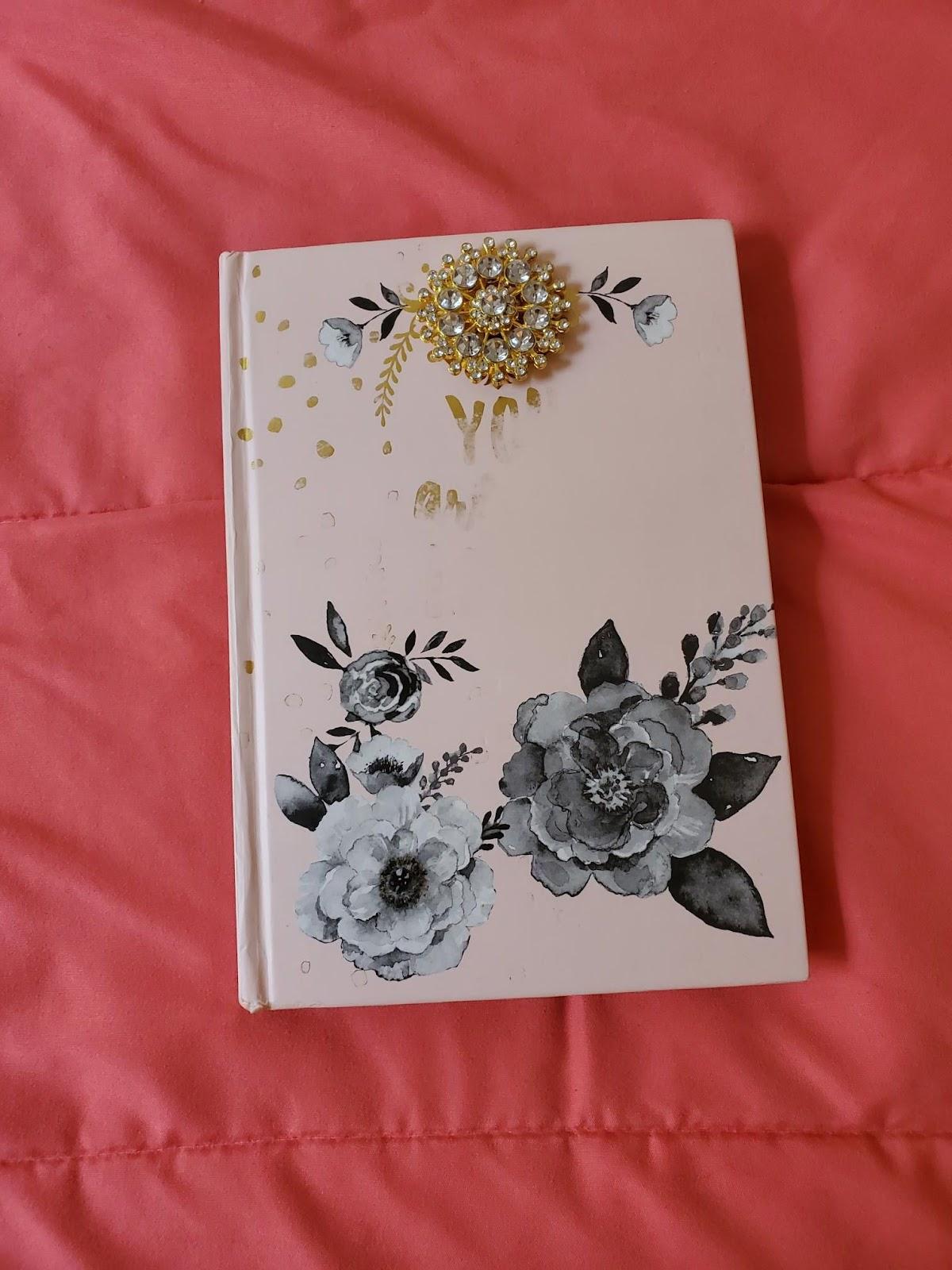 the cover of Jenn's journal