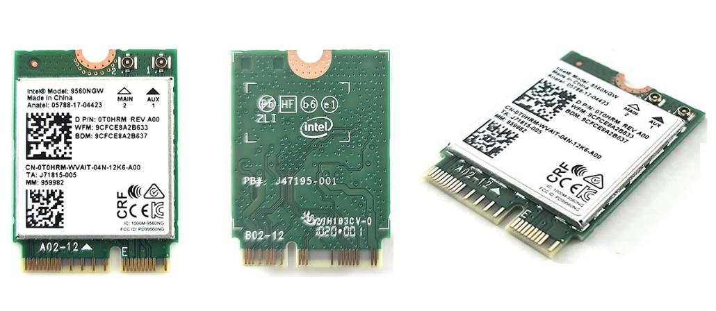 Integrated wi-fi adapter for laptop