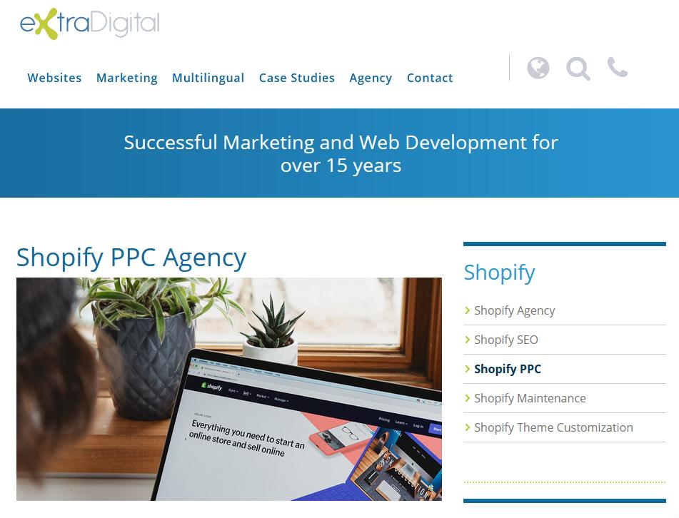 Best Shopify PPC Agency - Extra Digital
