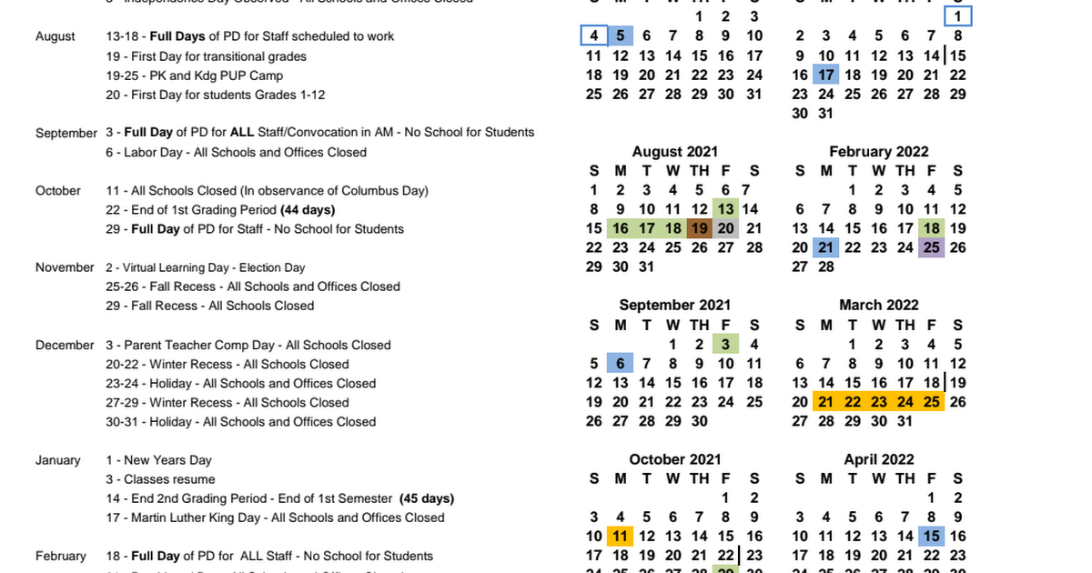 Ccsd Calendar 2022.Boe Approved Ccsd Calendar 2021 2022 Pdf Google Drive