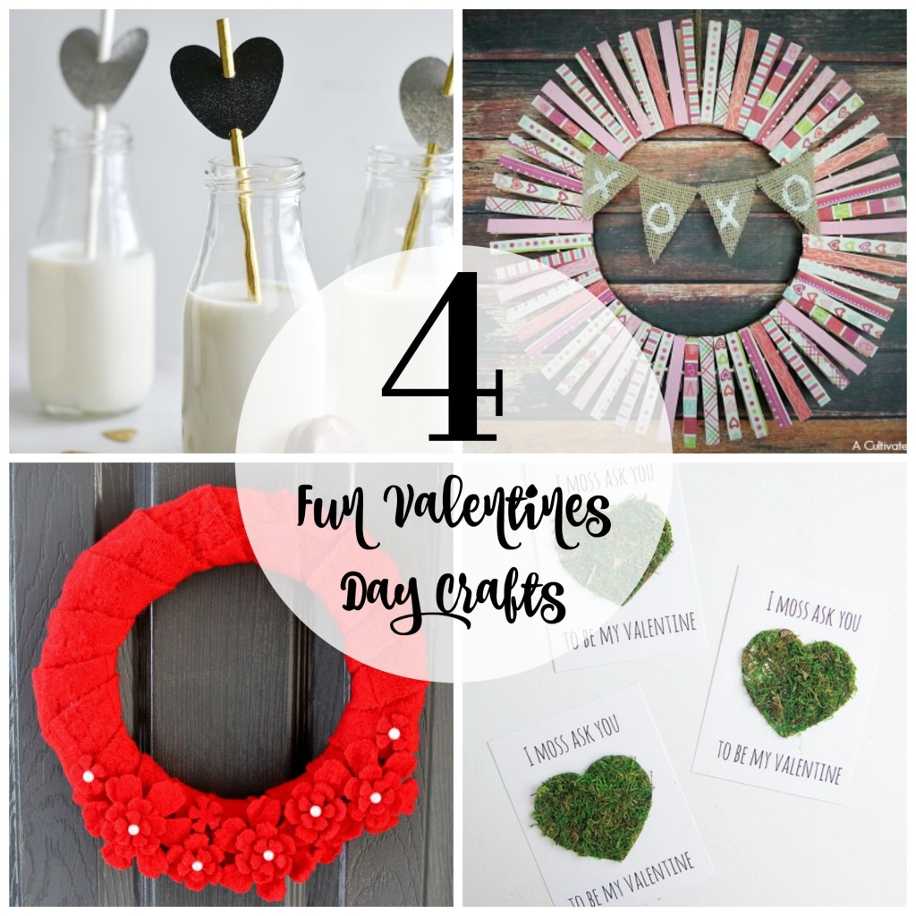 4 Fun Valentines Day Crafts
