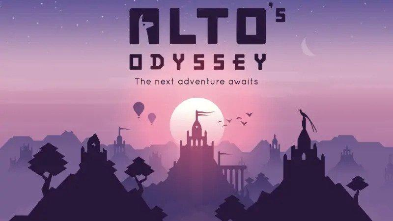 try Alto's Odyssey for the best relaxing game