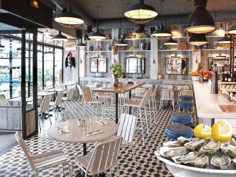 Thiết kế nhà hàng hải sản