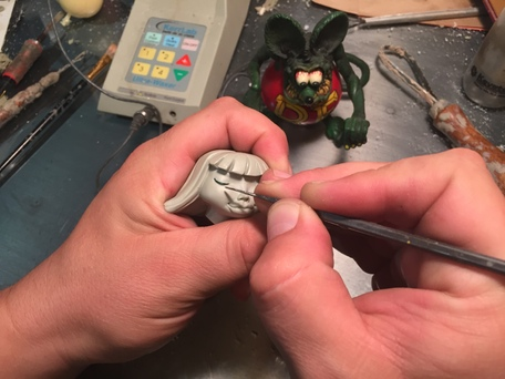 Sculpting the Wax