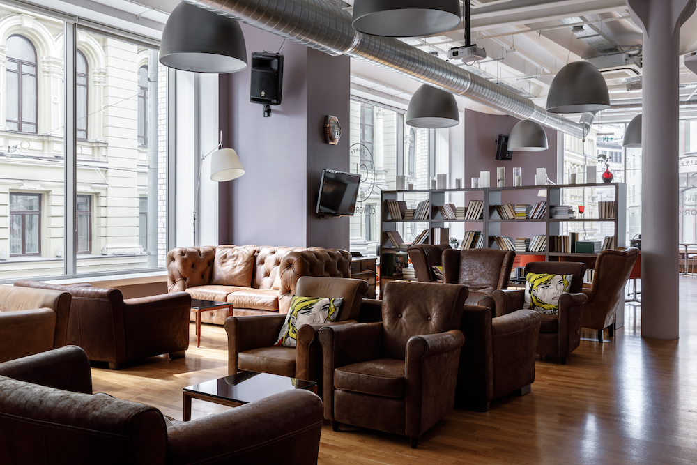 Cabinet Lounge Coworking Spaces in Russia