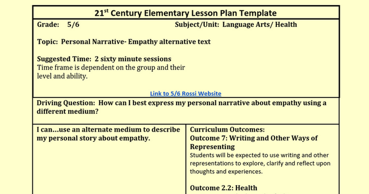 Best 21st Century Lesson Plan Template Images Gallery Sub Lesson