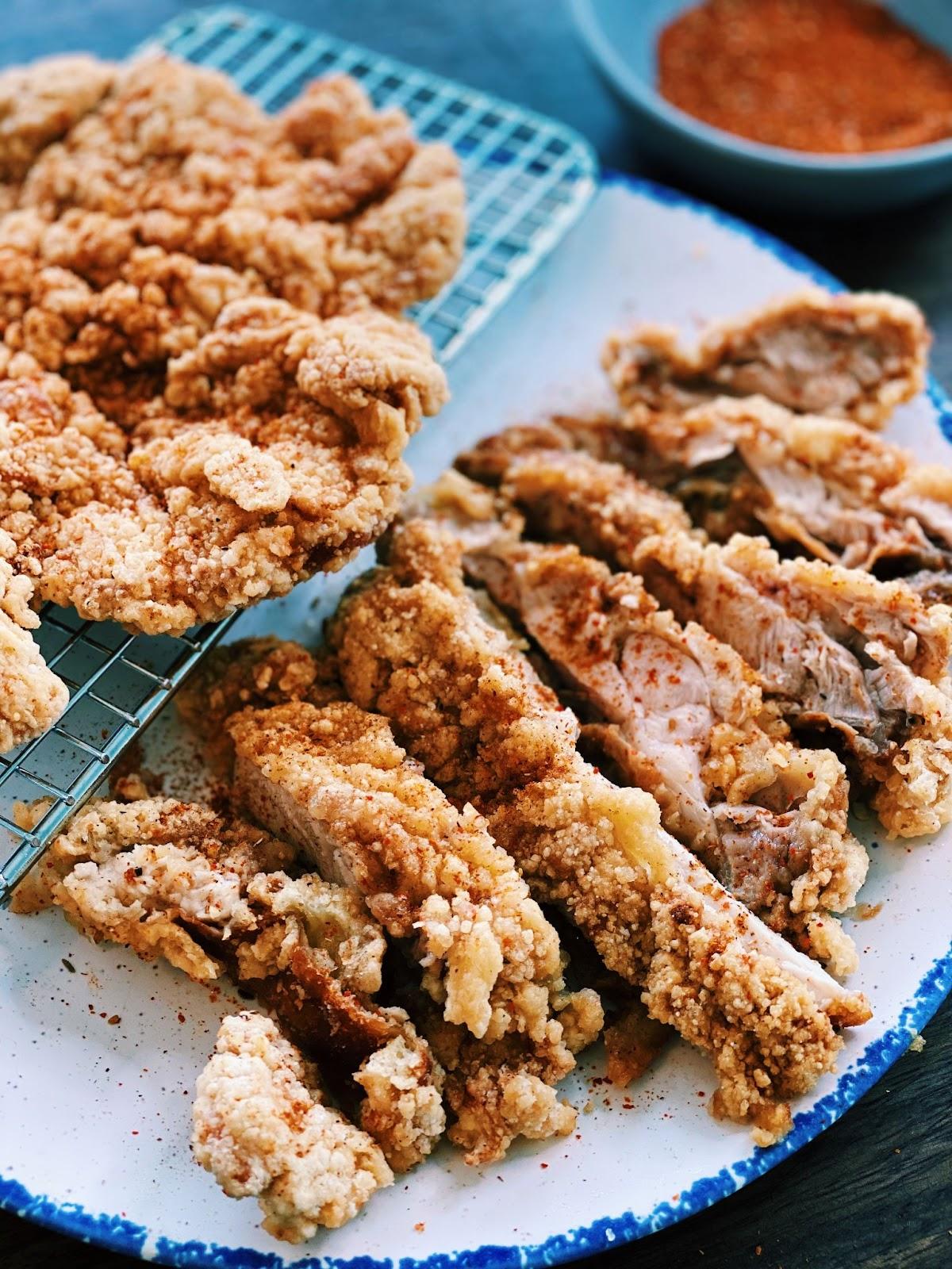 Taiwanese XXL Fried Chicken