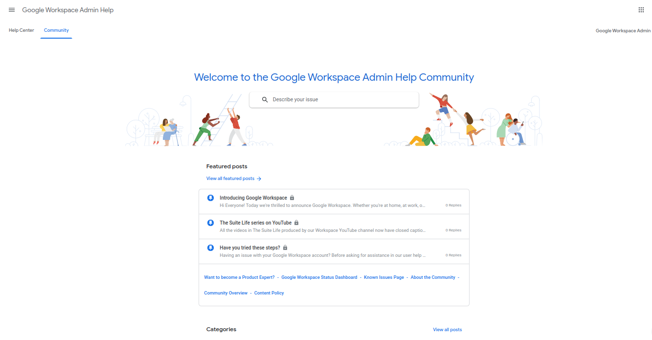 Google Workspace Admin Help and Discussion Center