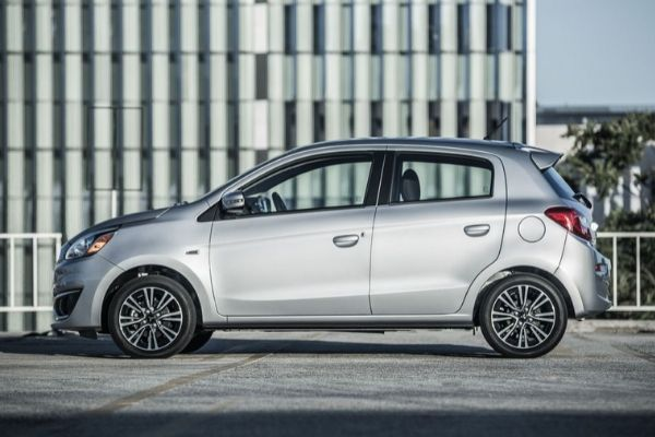 Mitsubishi Mirage Side Profile