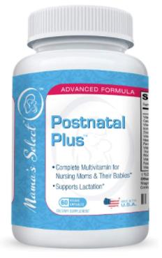 10. Mama's Select Post-Natal Plus Vitamin
