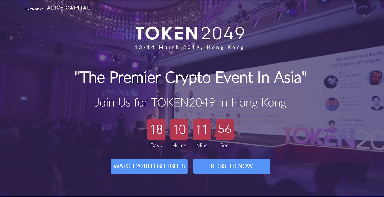 Token2049 blockchain hong kong